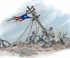 Puerto Rico se levanta! We never give up!