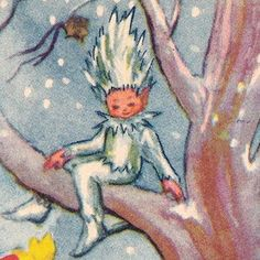 vintage jack frost illustration - Google Search