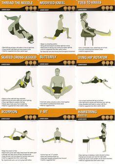 Lower Body Stretch 1