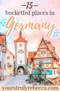 Travel in Germany is easy & there is lots to see. Check out the Black Forest, Cologne, Hamburg, Bavaria, the capital city of Berlin or Frankfurt. Take pictures of cute German houses and German city… Koblenz Germany, Frankfurt Germany, Hamburg Germany, Bavaria Germany, Visit Germany, Germany Travel, Instagram Inspiration, Travel Inspiration, Travel Ideas