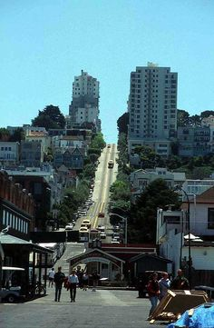 San Franciso.  I could not drive here.  Going uphill scared the daylights out of me and I froze.