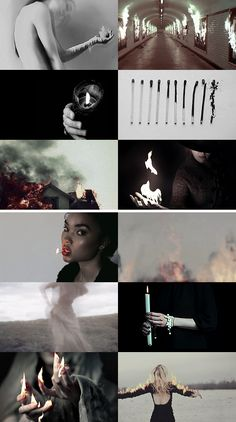 "WITCH AESTHETICS: FIRE:   ""She's mad but she's magic, there's no lie in her fire."""
