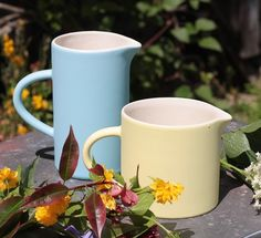 Summer has arrived. Jugs, jugs and more jugs.all sizes for just about any occasion. See more in Sue Ure's Maison range. Mid Century Design, Contemporary Interior, Moscow Mule Mugs, Product Launch, Range, Tableware, Summer, Cookers, Dinnerware