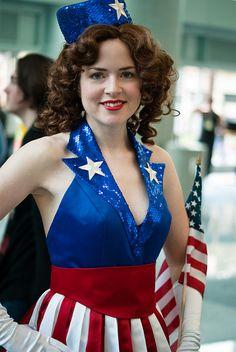 Captain America USO Girl | Flickr - Photo Sharing!