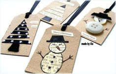 Awesome DIY Gift Tag Ideas DIY Projects for Home | Do It Yourself Ideas and Crafts