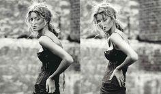 Gisele Bundchen by Paolo Roversi for Vogue Italia, February 2002