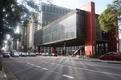 MASP - Museu de Arte de São Paulo (São Paulo Museum of Art). Located in Paulista Avenue, the most famous avenue in São Paulo city.
