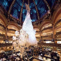 Les galeries Lafayette: Une adresse incontournable pour le réveillon de nöel!