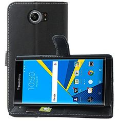 BlackBerry Priv/Venice Leather Case,Yaker DH Super Leather Cover Pc Hard Case Shell Compatible -Retail Packaging for for BlackBerry Priv,Venice (Black)