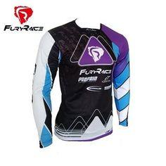 Fury Race New Men MTB MX DH Mountain Bike Jersey Downhill Jersey 86aa5f0ca