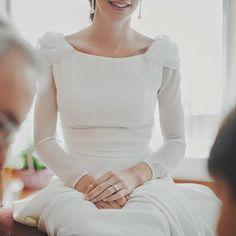Manga larga para novias