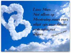 Afbeeldingsresultaat voor moederdag in de hemel Over The Years, Like You, Friendship, Sayings, Words, Quotes, Google, Quotations, Lyrics