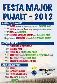 El blog de P.S.: Go!: Festa Major Pujalt 2012