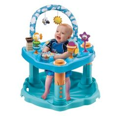 Bloom Into Baby: Evenflo Bounce and Learn ExerSaucer Giveaway - Ends 5/30