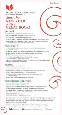 2011 book awards