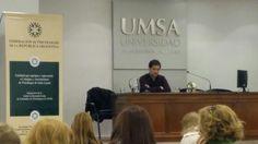 Lic. Roberto Horacio Casanova. En las XV Jornadas Nacionales de Salud Mental