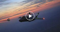 Vídeo Mostra Como Se Processa o Reabastecimento De Caça F-35 Em Pleno Voo