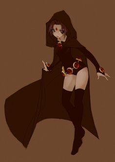 Raven from Teen Titans by klar on DeviantArt     ★    CHARACTER DESIGN REFERENCES (http://www.facebook.com/CharacterDesignReferences & http://pinterest.com/characterdesigh) • Love Character Design? Join the Character Design Challenge (link→ http://www.facebook.com/groups/CharacterDesignChallenge) Share your unique vision of a theme every month, promote your art  in a community of over 25.000 artists!    ★