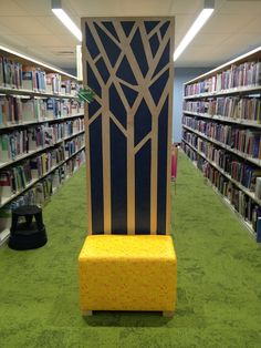 Kids Library, Library Ideas, Library Furniture, Furniture Design, Bethlehem, Media Center, Kid Spaces, Design Elements, Bookcase