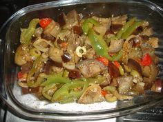 Receita de Salada de berinjela. Enviada por Cibele Soares e demora apenas 40 minutos.