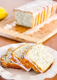 This delicious Lemon Poppy Seed Bread with Lemon Icing is so moist and simple to make, it simply takes you minutes to put together and in the oven it goes. #lemonpoppyseedbread #poppyseedbread