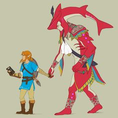 Sidon is the most adorable cinnamon roll in every Zelda Game ever