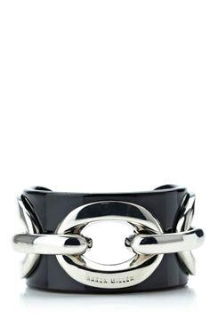 Karen Millen Acrylic and chain cuff
