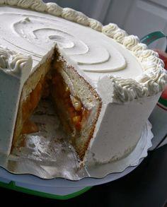 Love Pie. Love Cake. PIECAKEN.: Vanilla Bean & Peach PIECAKEN Recipe