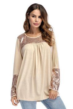 Spring 2018 Long Sleeve Female T-shirt