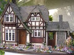 english cottage dollhouses - Google Search