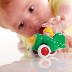 Baby Aeroplane - Tolo Classic - Products - Tolo toys