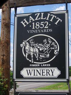 Hazlitt Winery, Hector, New York