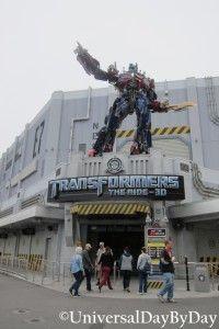 Universal Studios Florida - Transformers The Ride 3D