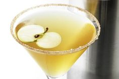 Your Autumn Just Got Better with this Pumpkin Punch: Pumpkin butter and pear vodka come together in a delightful autumn mix in this Pumpkin Punch cocktail.