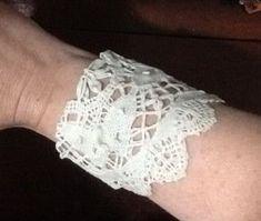 Doily Cuff Bracelet
