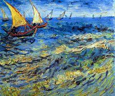 Vincent Van Gogh - Post Impressionism - Arles - Saintes-Maries - La petite…