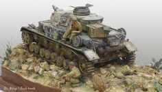 DAK Panzer IV Aufs E