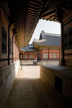 Korea, a mountain monastry...