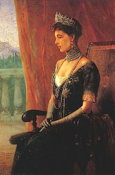 Portrait of Sophia of Prussia (1870-1932), Queen of Greece painted in 1915