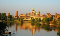 """""""MANTOVA, BETWEEN HISTORY, CULTURE AND NATURE"""" *** There are a lot of monuments and places that enchant visitors walking in the streets of the historical center. In 2008, UNESCO has placed the entire city on the World Heritage Sites List!"""