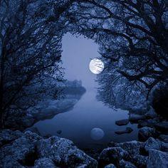 "Saatchi Online Artist Tomasz Wieja; Photography, ""Luna"""