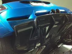 Duell AG Rear Diffuser (Blue)