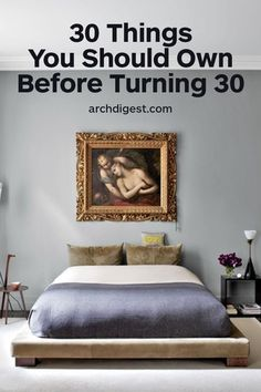 Don't settle for an immature home | archdigest.com