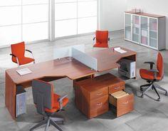 Mejores 37 imágenes de Mesas de oficina en Pinterest   Office table ...