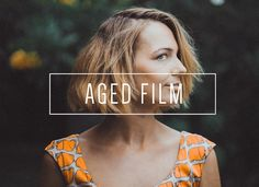 Aged Film LR Preset [Indie Muse] by LOU&MARKS on @creativemarket