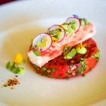 King crab, grilled watermelon and avocado: a flawless summer flavour combination via @FSMaldives. #FSTaste