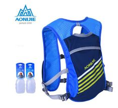 US $21.29 AONIJIE Outdoor Sport Mochilas Trail Marathoner Running Race Hydration Vest Hydration Pack Backpack with 2 *250ML Water Bottles