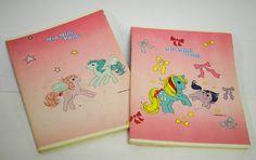 My Little Pony Italian 1985 SCHOOL EXERCISE BOOK 3