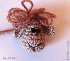 БОНУС!!! Ма-а-ааленькая овечка фото 8 Crochet Necklace