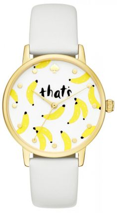 Kate Spade That's Bananas Metro I love this watch.   Going on my Christmas wishlist.  So funny.